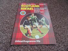 Scotland v Israel, 1981 [WC]